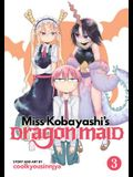 Miss Kobayashi's Dragon Maid, Volume 3