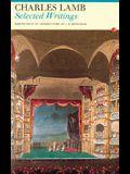 Charles Lamb Selected Writings: Charles Lamb