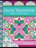 Celtic Traditions adult coloring book: 50 pages to color, 8.5x11
