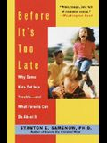 Before It's Too Late: Why Some Kids Get Into Trouble--And What Parents Can Do about It