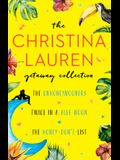 The Christina Lauren Getaway Collection: The Unhoneymooners, Twice in a Blue Moon, the Honey-Don't List