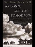 So Long, See You Tomorrow