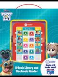 Disney Junior Puppy Dog Pals: Me Reader: 8-Book Library and Electronic Reader [With Battery]