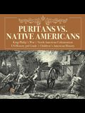 Puritans vs. Native Americans - King Philip's War - North American Colonization - US History 3rd Grade - Children's American History
