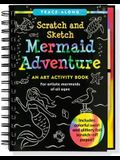 Scratch & Sketch Mermaid Adventure (Trace-Along)