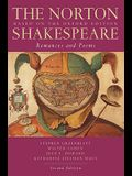 The Norton Shakespeare: Based on the Oxford Edition: Romances and Poems