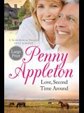 Love, Second Time Around: Large Print