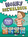 Henry Heckelbeck 4 Books in 1!: Henry Heckelbeck Gets a Dragon; Henry Heckelbeck Never Cheats; Henry Heckelbeck and the Haunted Hideout; Henry Heckelb