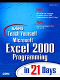 Sams Teach Yourself Excel 2000 Programming in 21 Days