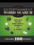 Entertainment Word Search: Movies, Music, Broadway, Sports, TV & More