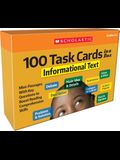 100 Task Cards in a Box: Informational Text: Mini-Passages with Key Questions to Boost Reading Comprehension Skills