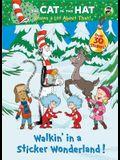 Walkin' in a Sticker Wonderland! (Dr. Seuss/Cat in the Hat) (Hologramatic Sticker Book)