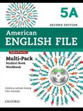 American English File Second Edition: Level 5 Multi-Pack a: With Online Practice and Ichecker
