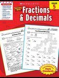 Scholastic Success with Fractions & Decimals: Grade 5 Workbook