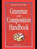 Glencoe Language Arts: Grammar and Composition Handbook, Grade 7