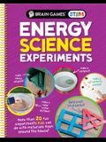 Brain Games Stem - Energy Science Experiments: More Than 20 Fun Experiments Kids Can Do with Materials from Around the House!