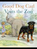Good Dog Carl Visits the Zoo - Board Book