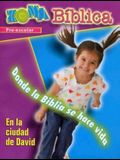 Zona Biblica En La Ciudad de David Preschool Leader's Guide: Bible Zone in the City of David Spanish Preschool Leader's Guide