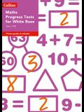 Collins Tests & Assessment - Year 1/P2 Maths Progress Tests for White Rose