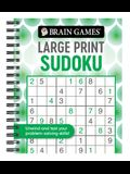Brain Games - Large Print Sudoku (Swirls)