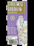 Streetwise Brooklyn Map - Laminated City Center Street Map of Brooklyn, New York