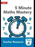 Collins Ks2 Revision and Practice - 5 Minute Maths Mastery Book 4