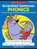 Scrambled Sentences: Phonics: 40 Hands-On Pages That Boost Early Reading & Handwriting Skills