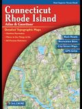 Connecticut/Rhode Island Atlas and Gazetteer (Delorme Atlas & Gazetteer)