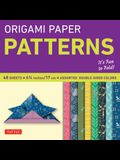Origami Paper Pattern: Perfect for Small Projects or the Beginning Folder