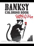 Banksy Coloring Book: Unofficial