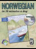 Norwegian in 10 Minutes a Day [With CDROM]