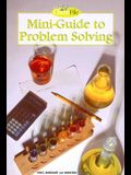 Holt Chemistry File: Mini-Guide to Problem Solving