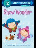 Snow Wonder [With Stickers]