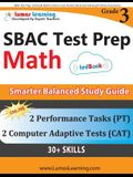 SBAC Test Prep: 3rd Grade Math Common Core Practice Book and Full-length Online Assessments: Smarter Balanced Study Guide With Perform