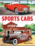 Sports Cars Coloring Book