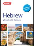 Berlitz Phrase Book & Dictionary Hebrew(bilingual Dictionary)