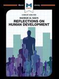 An Analysis of Mahbub ul Haq's Reflections on Human Development