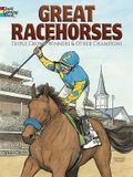 Great Racehorses Coloring Book: Triple Crown Winners and Other Champions