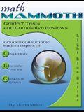 Math Mammoth Grade 7 Tests and Cumulative Reviews