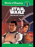 Star Wars: Finn and Poe Team Up!