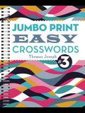 Jumbo Print Easy Crosswords #3