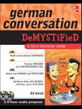 German Conversation Demystified [With 2 CDs]