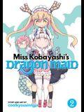Miss Kobayashi's Dragon Maid, Volume 2