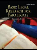 Basic Legal Research for Paralegals