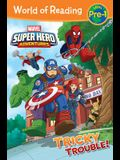 Super Hero Adventures: Tricky Trouble!