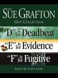 Sue Grafton DEF Gift Collection: D Is for Deadbeat, E Is for Evidence, F Is for Fugitive (A Kinsey Millhone Novel)