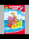 Alphabet Fun a Wipe-Off Book: Hours of Reusable Fun!