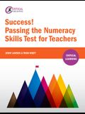 Success! Passing the Numeracy Skills Test for Teachers
