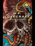 The Complete Works of H. P. Lovecraft (Deluxe Library Binding)