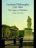 German Philosophy 1760-1860